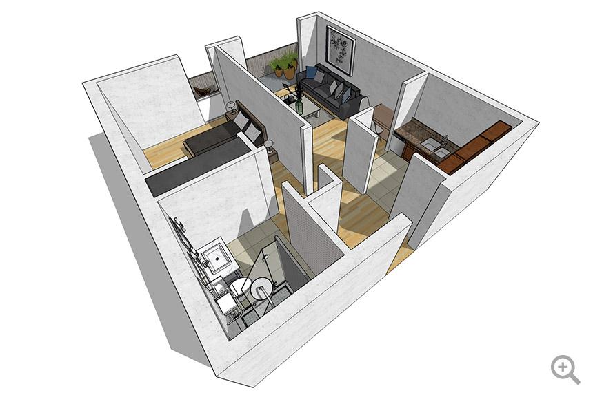 1 Bedroom / 1 Chambre
